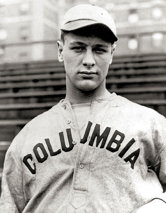 Lou Gehrig (COLUMBIA UNIVERSITY)