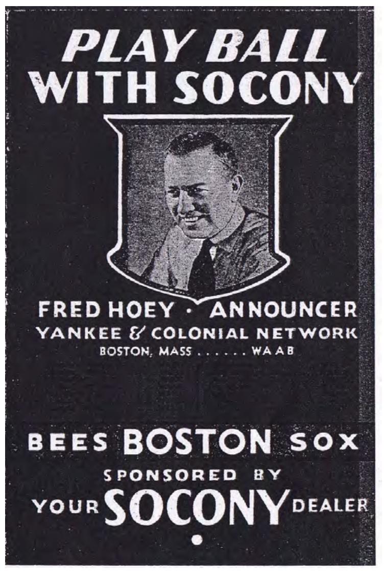 June 20 1931 Boston Braves Celebrate Fred Hoey Day Society For