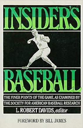 Insider's Baseball book cover