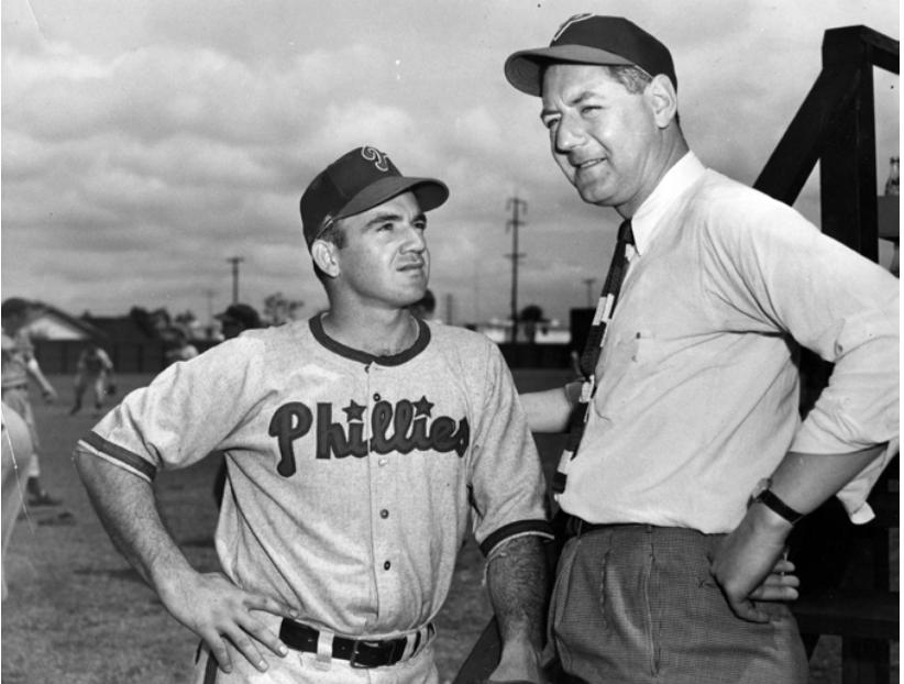 02531a49959 Gene Kelly heard of Joe McCarthy s death during a 1957 Phillies game at  Connie Mack Stadium. On the air