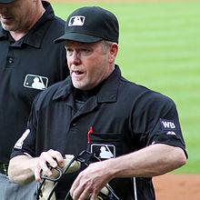 Umpire Jerry Meals