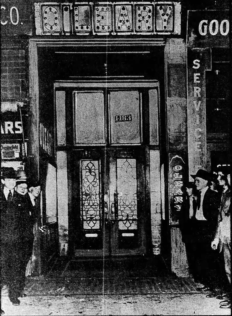James O'Leary's saloon