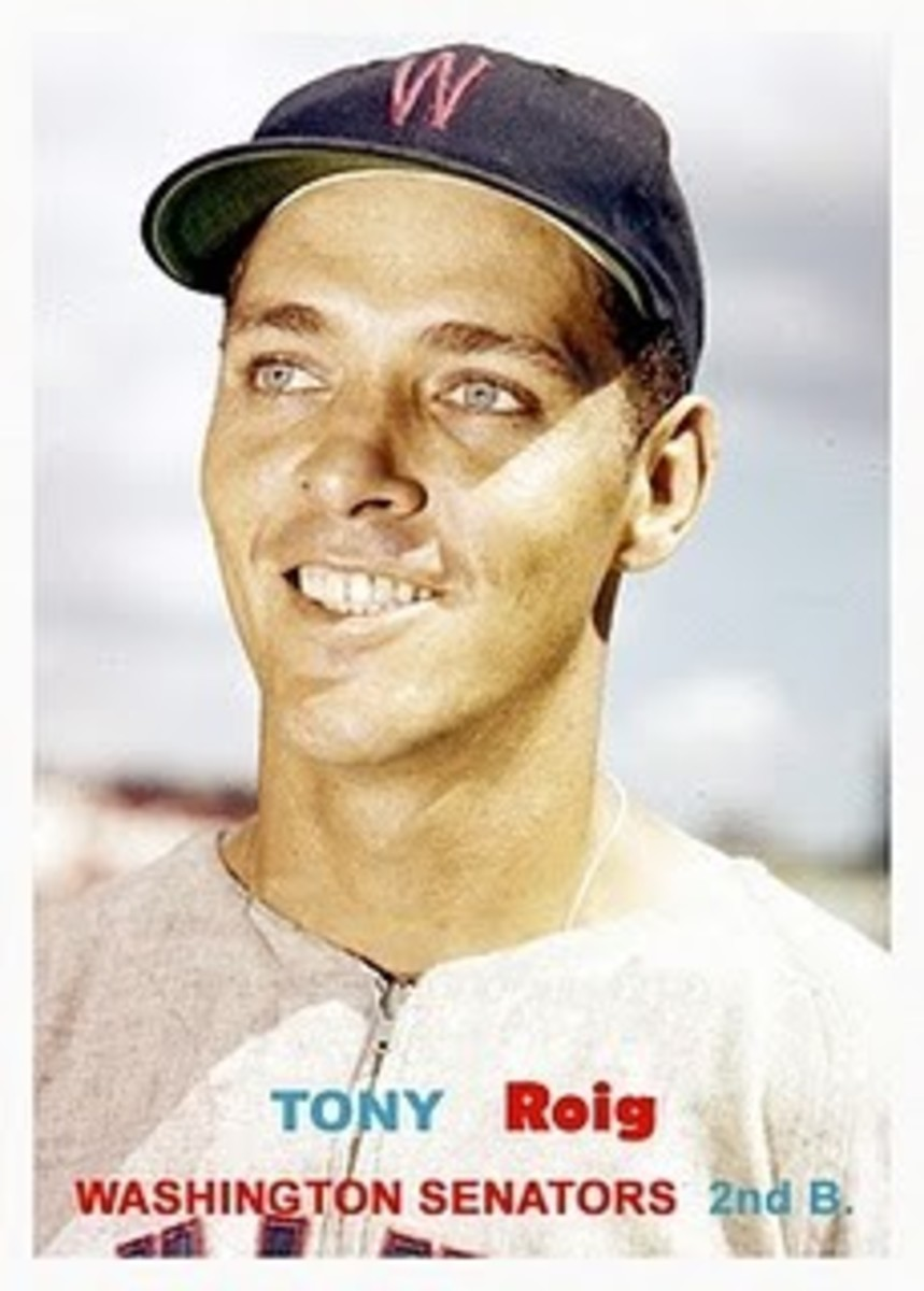 Tony Roig (Courtesy of Topps Baseball Company)