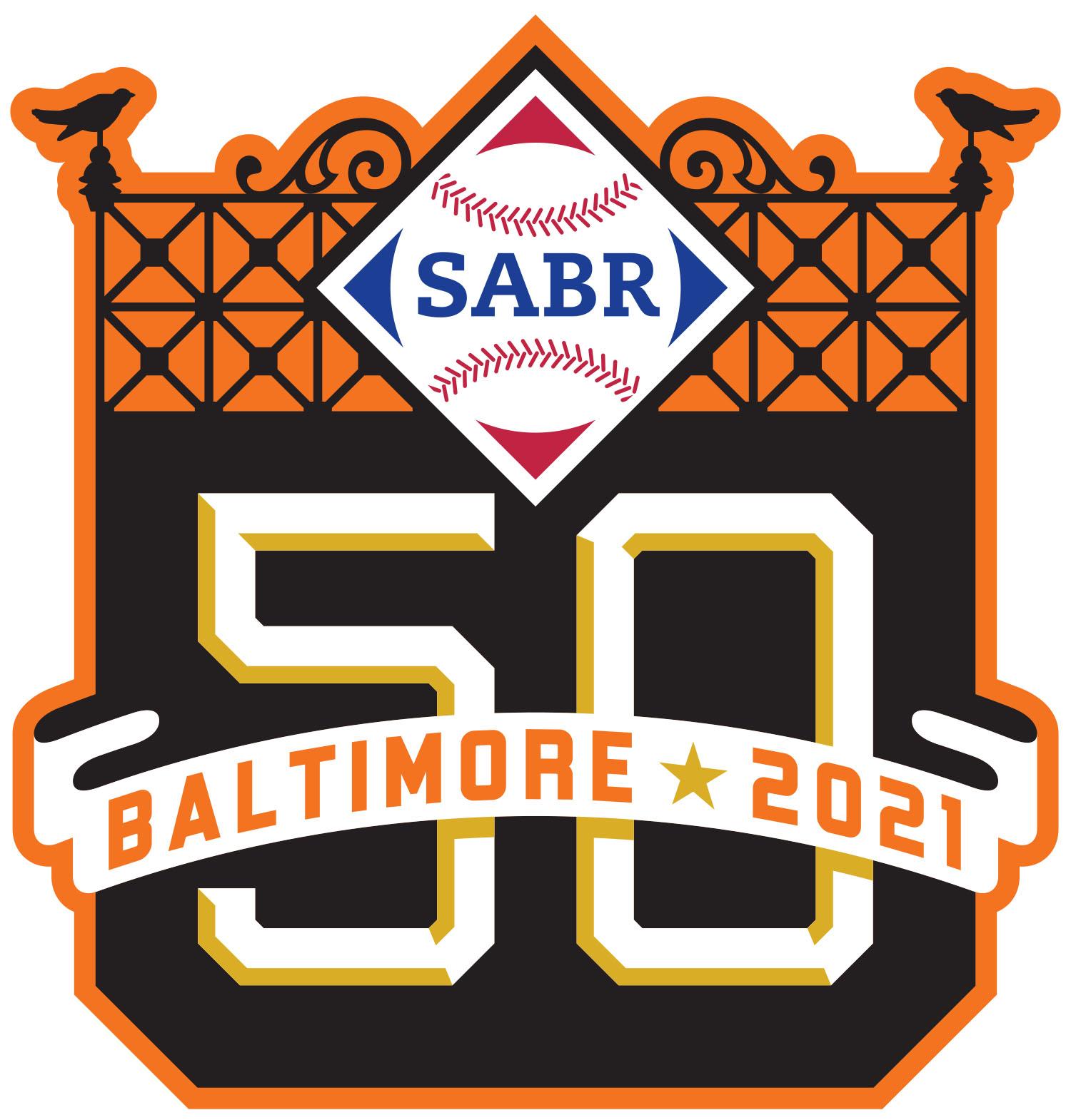 SABR 50 logo