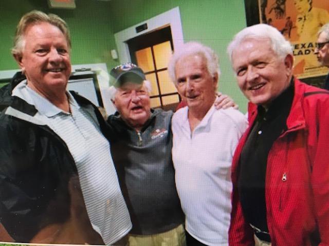 Tal Smith, Larry Dierker, Greg Lucas, Dan Lovett