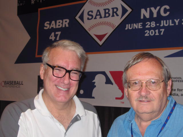 Keith Olbermann and Tom Hufford
