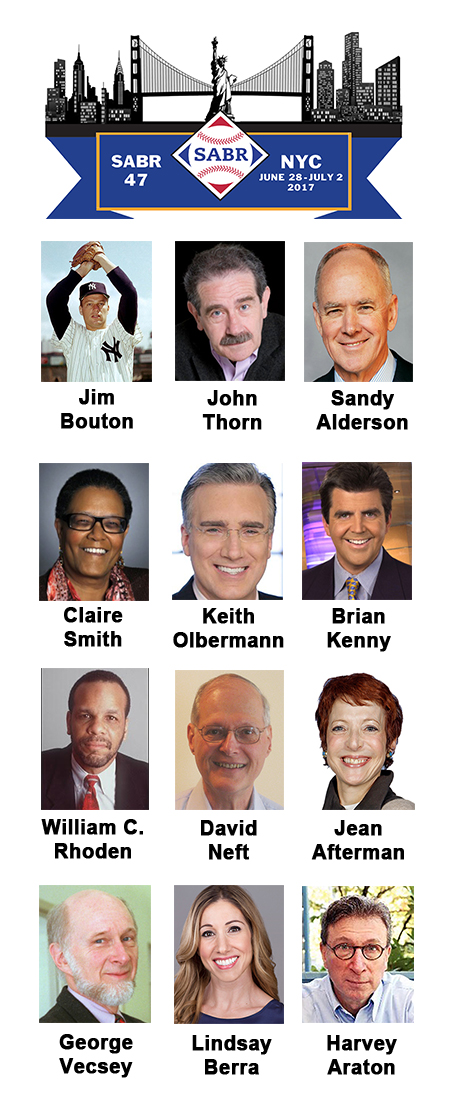 SABR 47 featured speakers