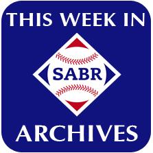 This Week in SABR archives