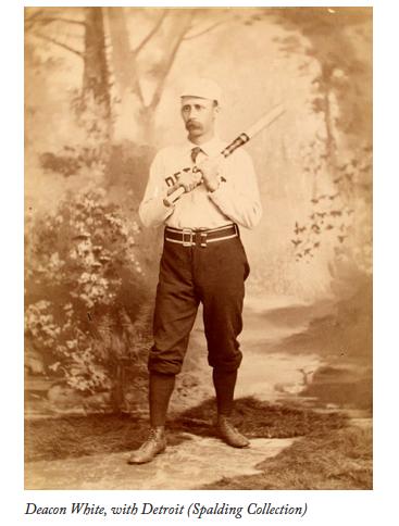 Deacon White (SPALDING COLLECTION, NYPL)