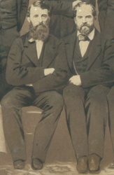 Doc Adams and James Whyte Davis