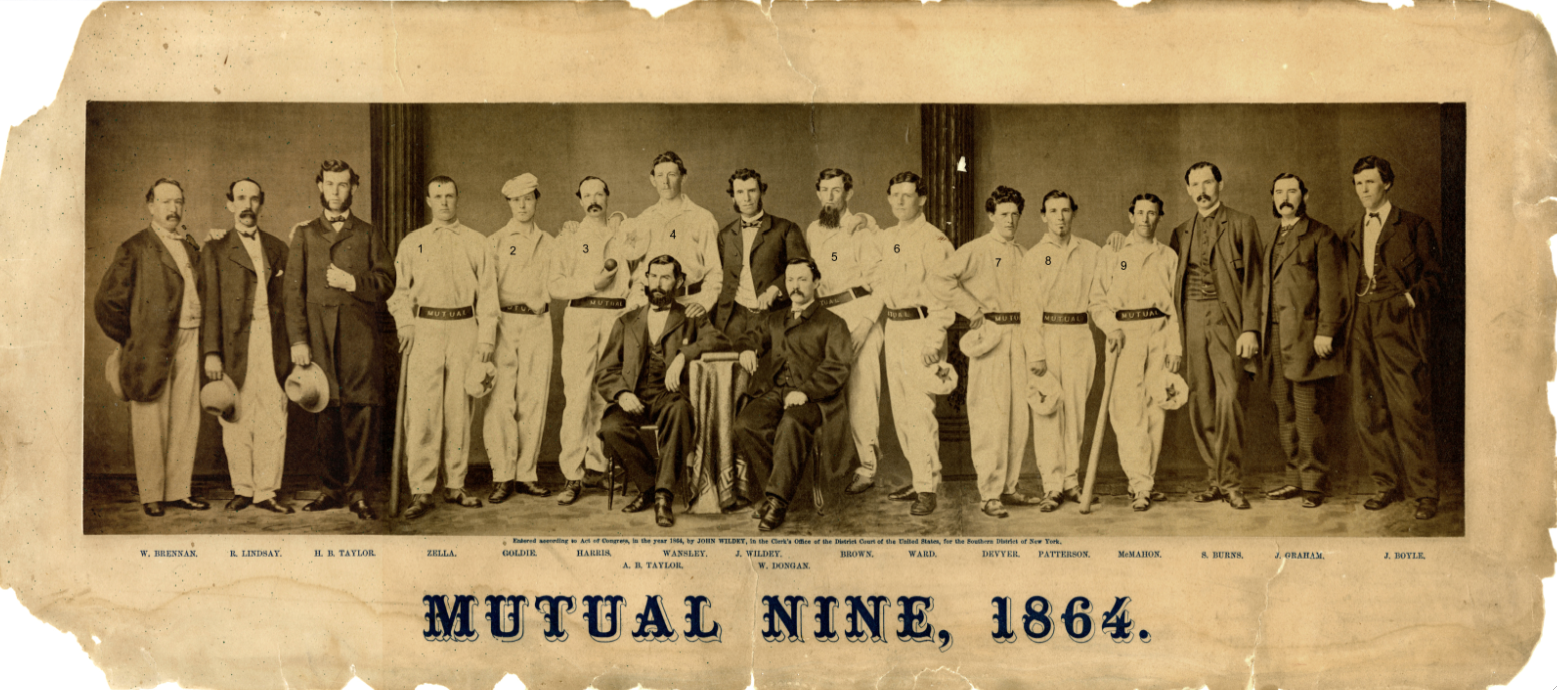 Players who participated in the September 28, 1865