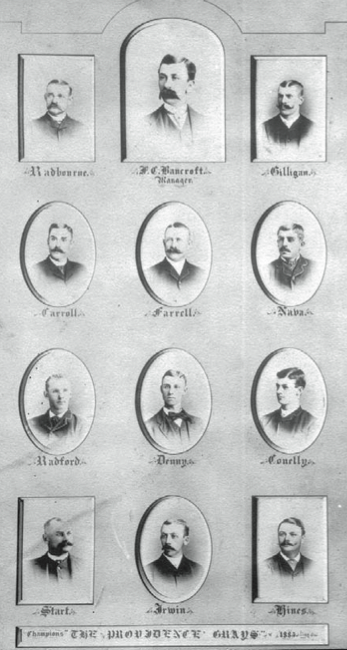 October 23 25 1884 The First World Series Society For American