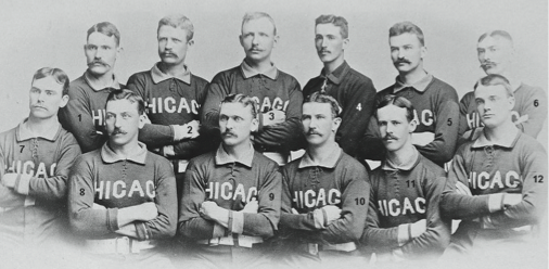 1885 Chicago White Stockings