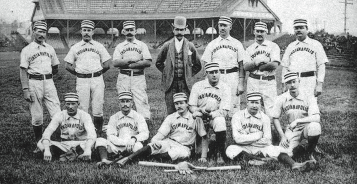 became the 300th team to fall victim to Pud Galvin when he beat them 5–4 on September 4, 1888.