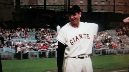 Bobby Thomson at 1957 Giants' final game