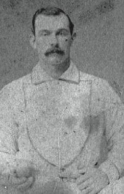 Louisville pitcher was one of four players thrown out of baseball for crookedness in 1877.