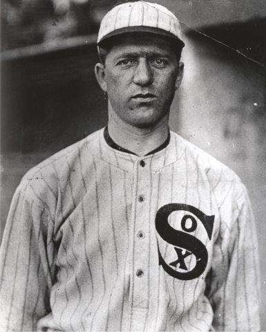 Right-hander went 24-14 for the 1915 White Sox and led the AL with 50 appearances.
