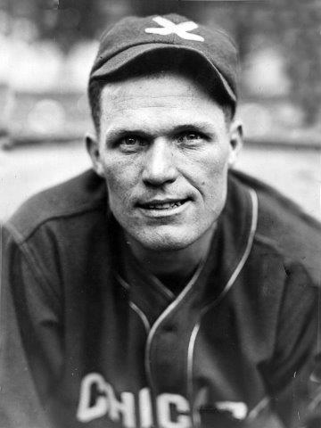Chicago White Sox outfielder, circa 1926.