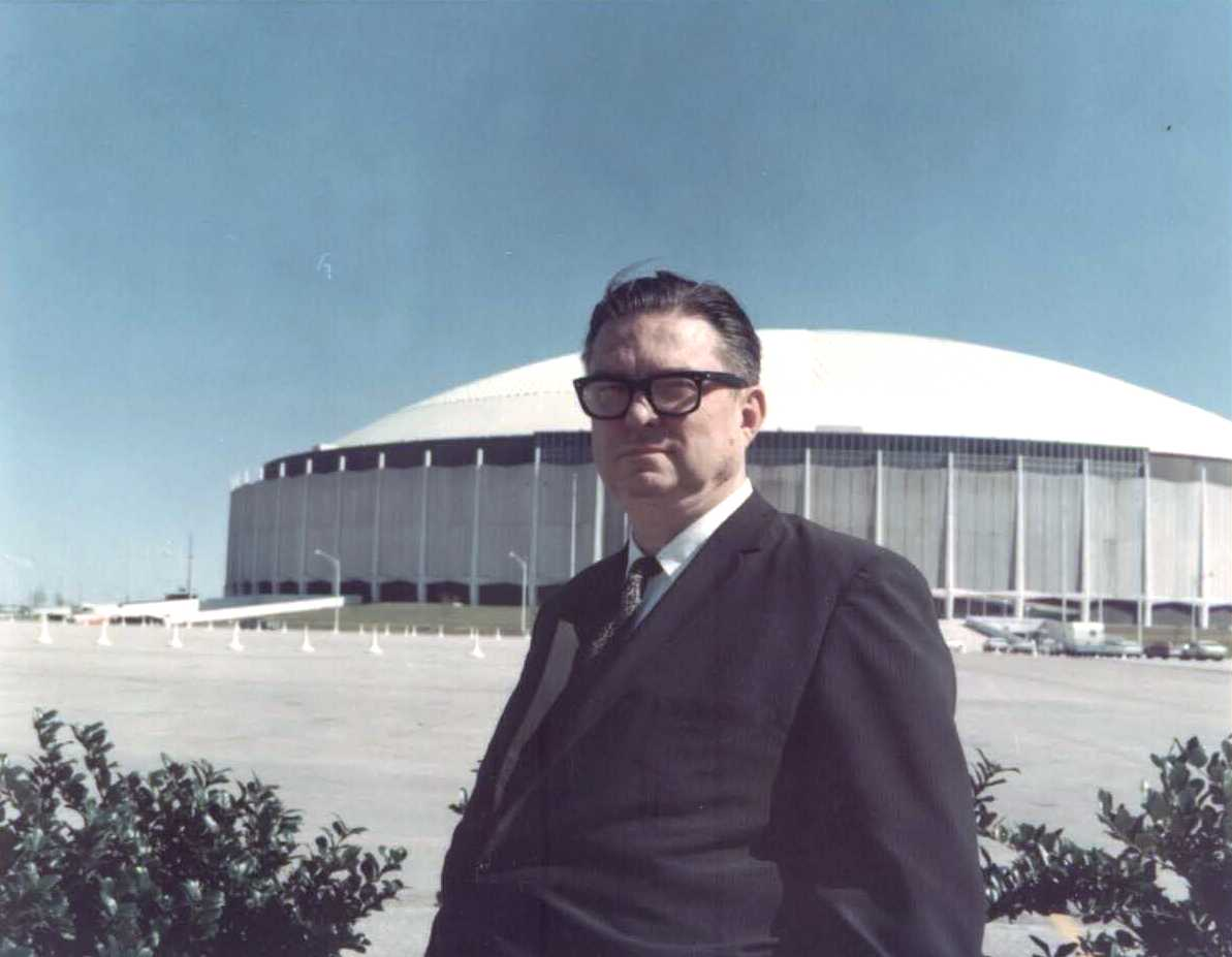Judge was intimately involved in determining the Astrodome's design and amenities.