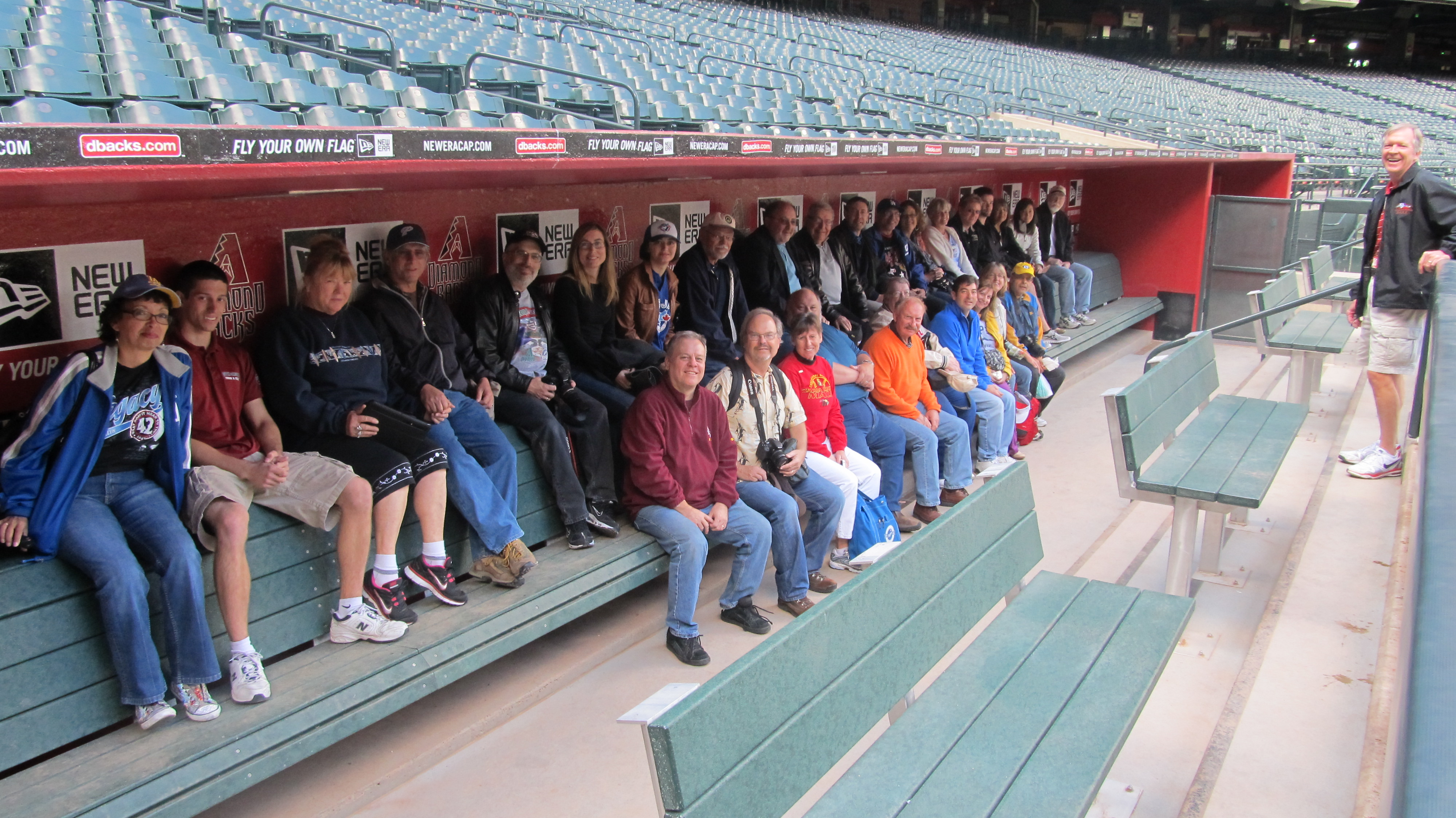 Tour of Chase Field