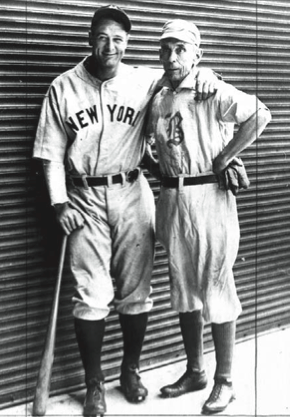 On June 3, 1932, Gehrig matched Lowe's feat of four home home runs in a single game.