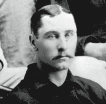 His catch of Cap Anson's ninth-inning line drive on October 6, 1882 snuffed out a late threat for the Chicago White Stockings.