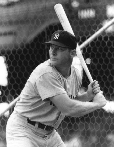 Switch Hitter Mickey Mantle Banged Out A Single Double Triple And Home Run Accomplishing The 12th Cycle In New York Yankees History