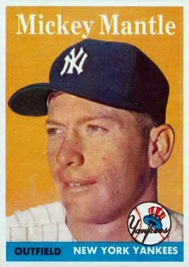 Image result for mickey mantle