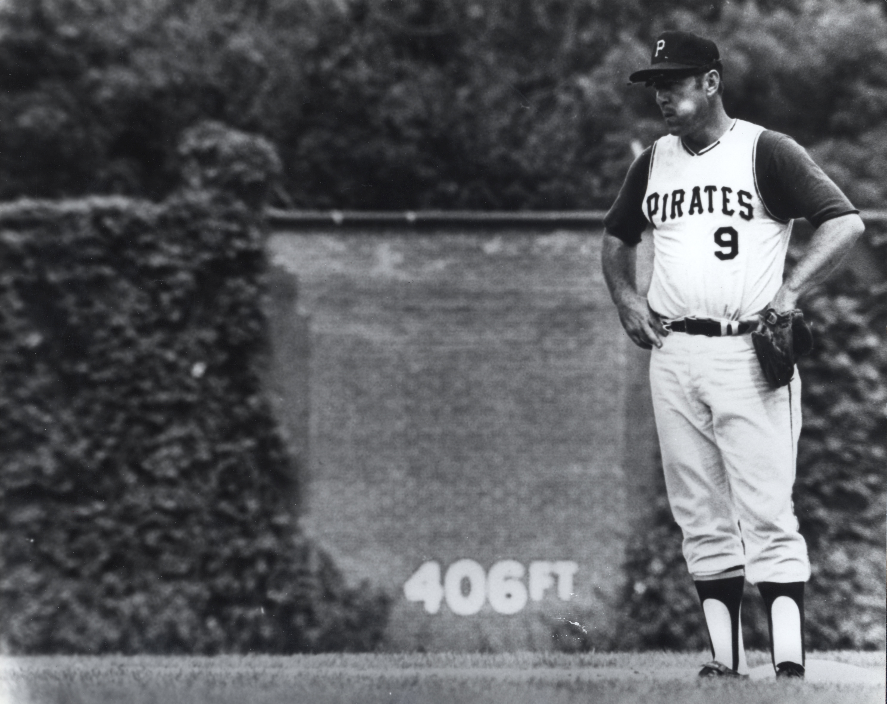 Pirates Hall of Famer is shown during the final game at Pittsburgh's Forbes Field on June 28, 1970.