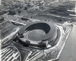 The part of the Cleveland Indians ballpark was played by Milwaukee's County Stadium in the movie