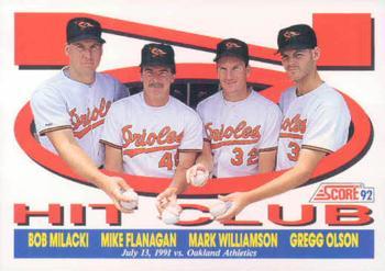 Image result for orioles no hitter baseball card bob milacki
