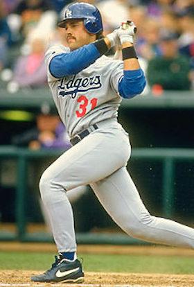 Mike Piazza Baseball