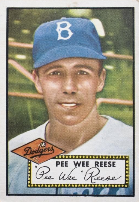 Pictures of pee wee reese
