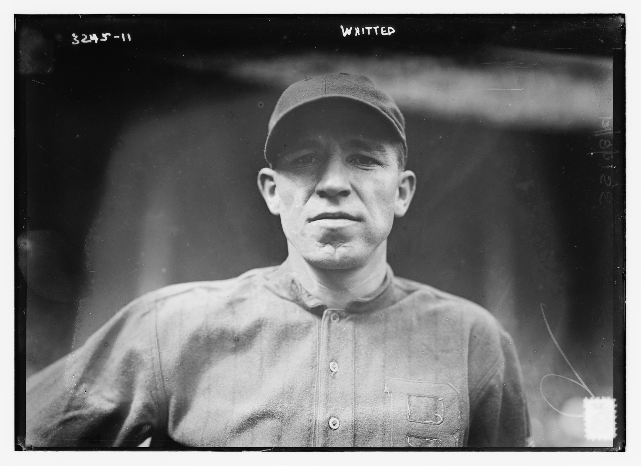 Right-handed hitting utilityman was acquired by Braves in June 1914. On the strength of 11 extra-base hits, a .293 batting average and 26 RBI in September and October, Whitted ended the season as a daily regular in George Stallings's lineup.