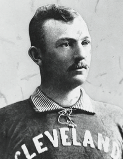 Cleveland's ace won once but lost twice in the 1892 playoff series.