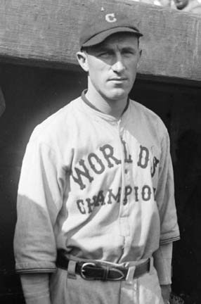Indians second baseman broke his throwing arm in preseason and missed 47 games, becoming one of many Indians who suffered injuries during the 1921 season.