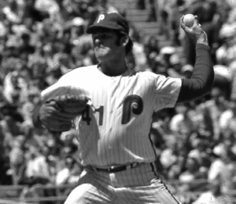 Phillies manager Gene Mauch relied on the best left-hander in the team's rotation, who was still healthy late in the season.