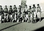 Manzanar camp champions in 1943.